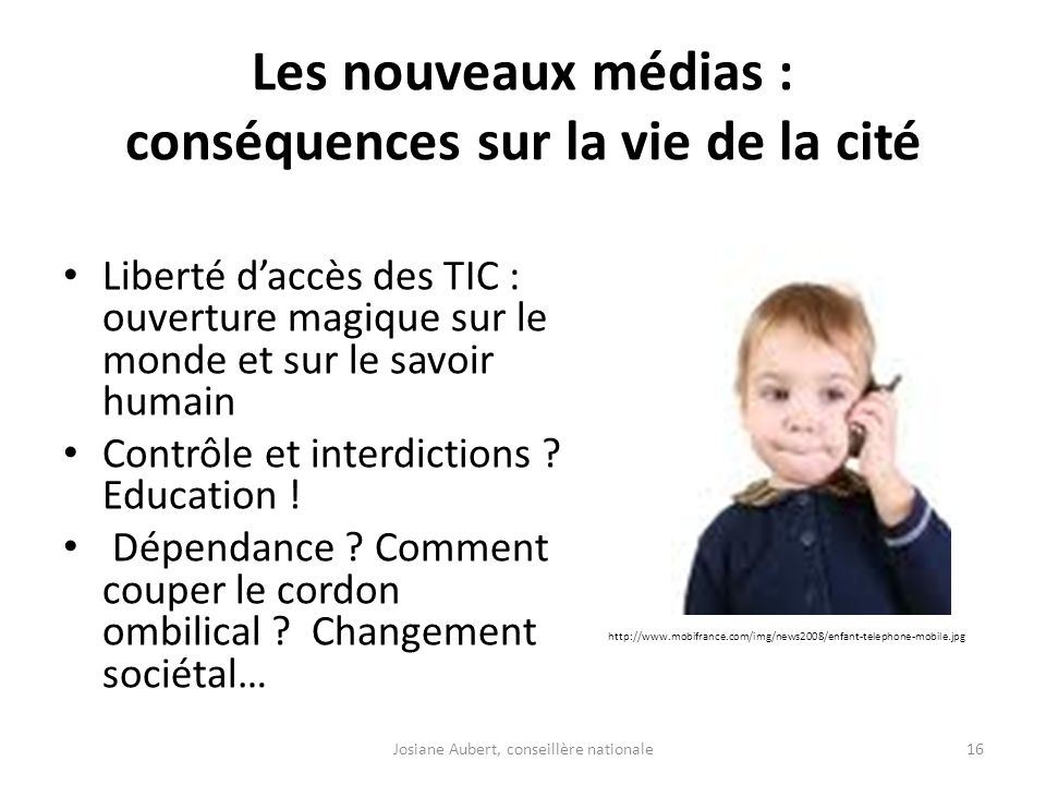 Les nouveaux médias : conséquences sur la vie de la cité