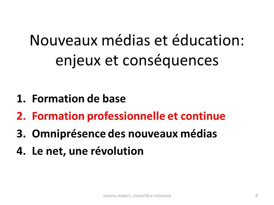 Nouveaux médias et éducation: enjeux et conséquences