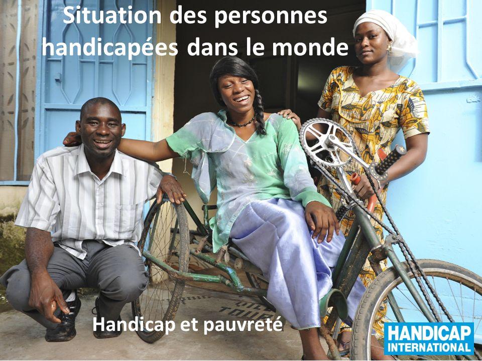 Situation des personnes handicapées dans le monde