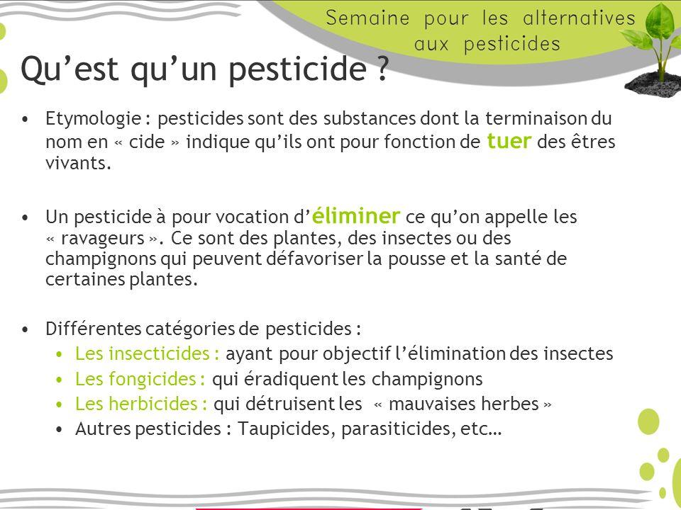 Qu'est qu'un pesticide