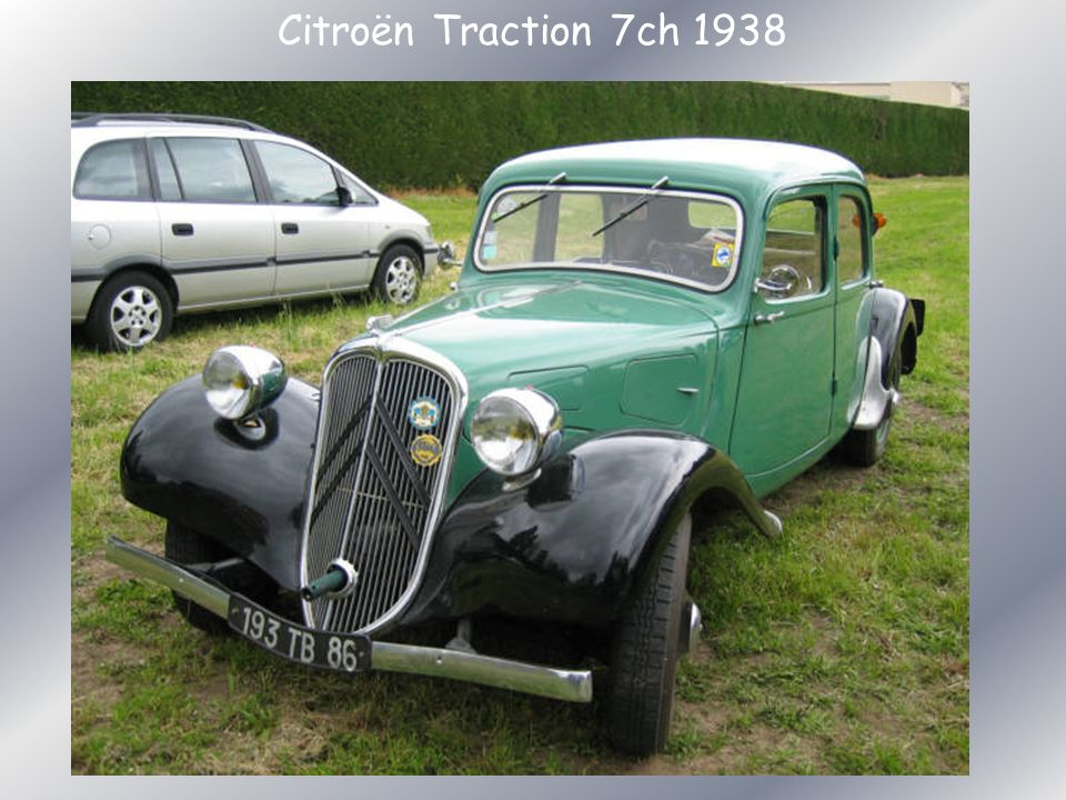 Citroën Traction 7ch 1938