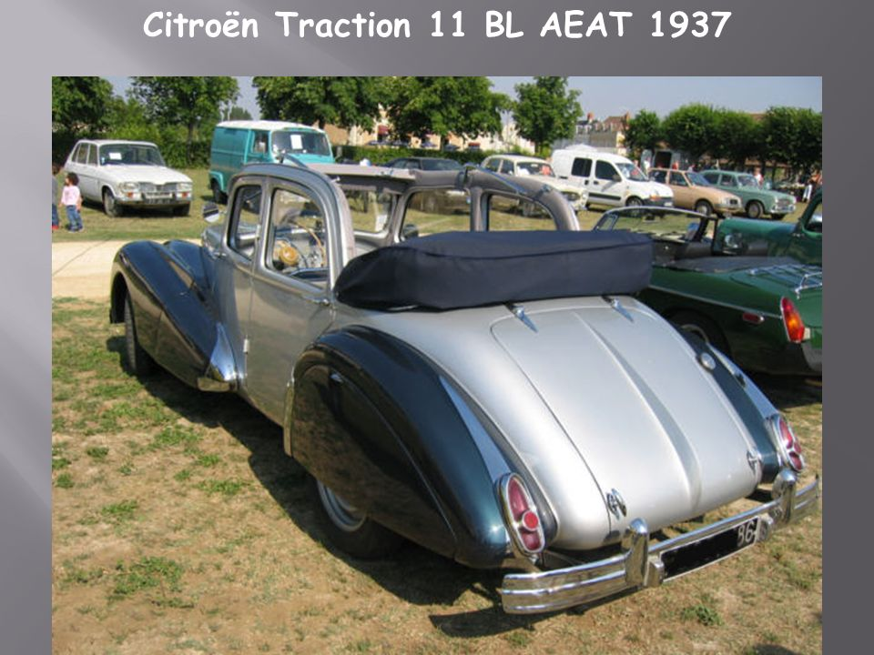 Citroën Traction 11 BL AEAT 1937