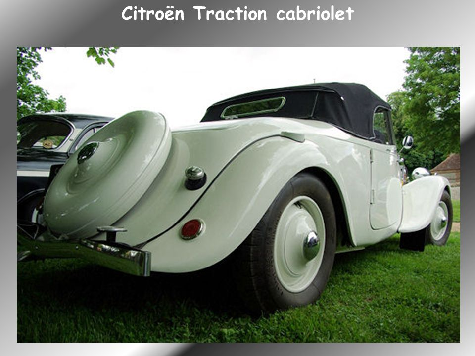 Citroën Traction cabriolet