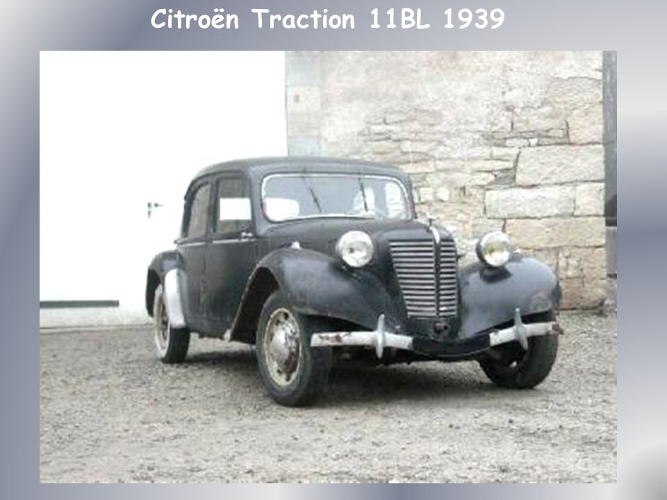 Citroën Traction 11BL 1939