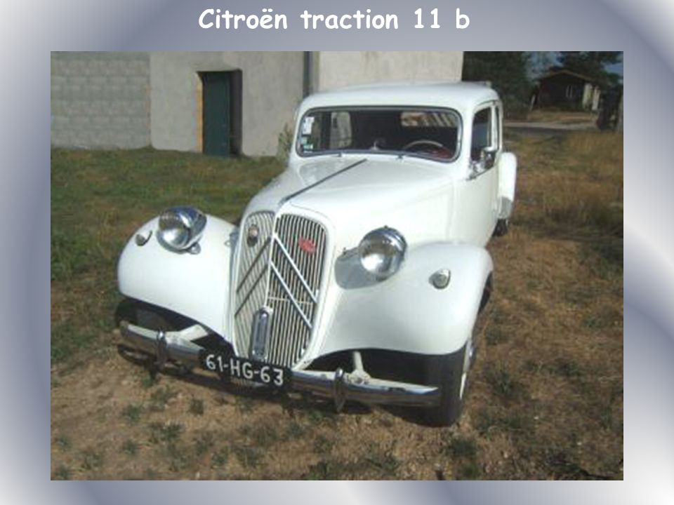 Citroën traction 11 b