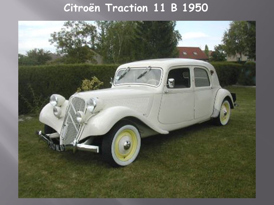 Citroën Traction 11 B 1950
