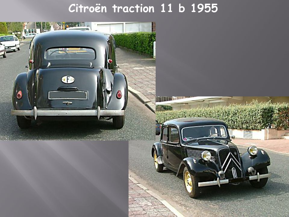 Citroën traction 11 b 1955