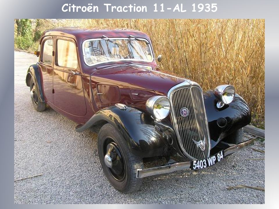 Citroën Traction 11-AL 1935