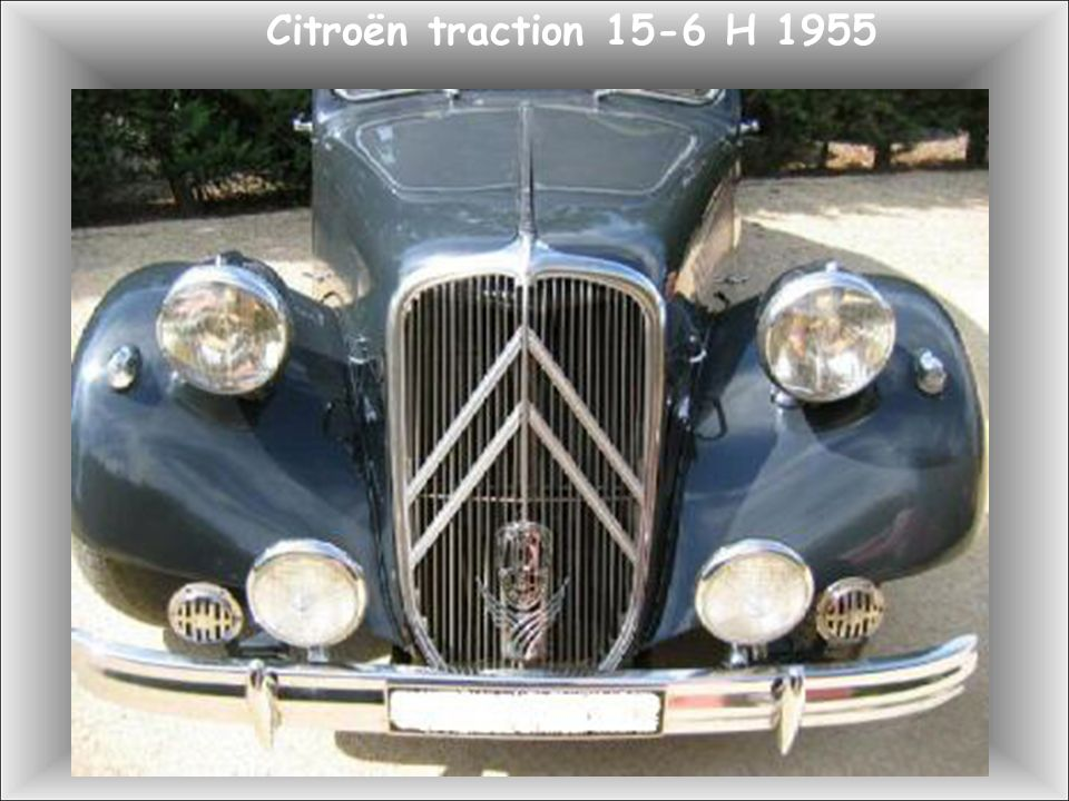 Citroën traction 15-6 H 1955