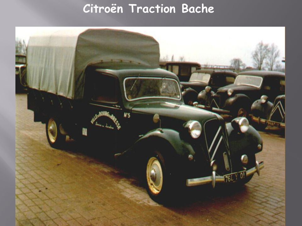 Citroën Traction Bache
