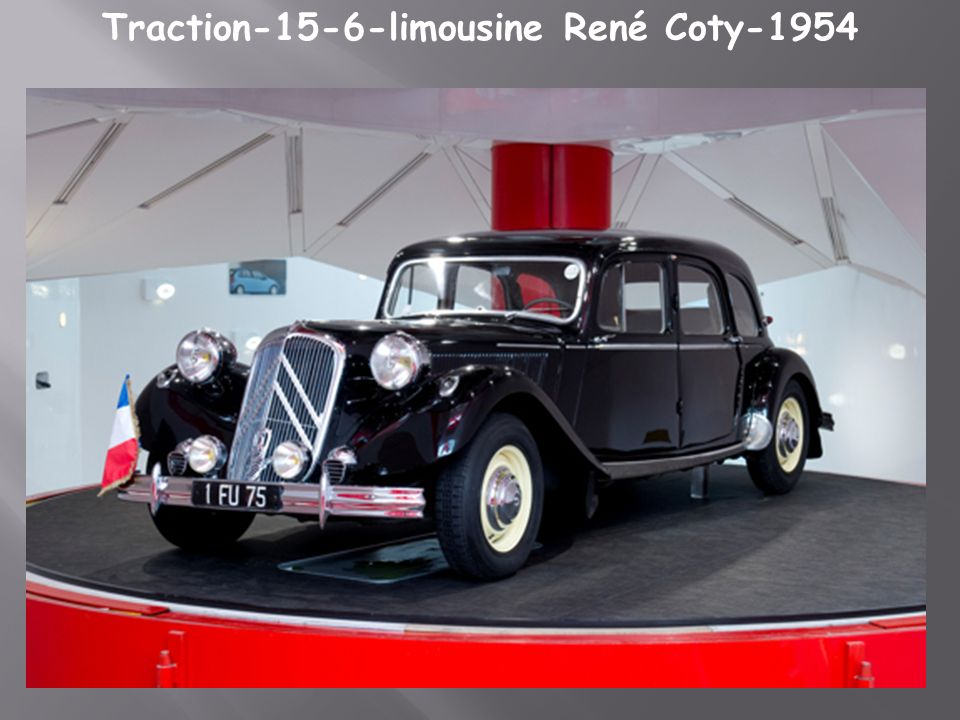 Traction-15-6-limousine René Coty-1954