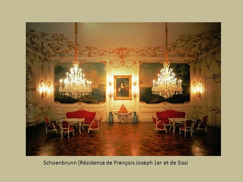 Schoenbrunn (Résidence de François Joseph 1er et de Sissi