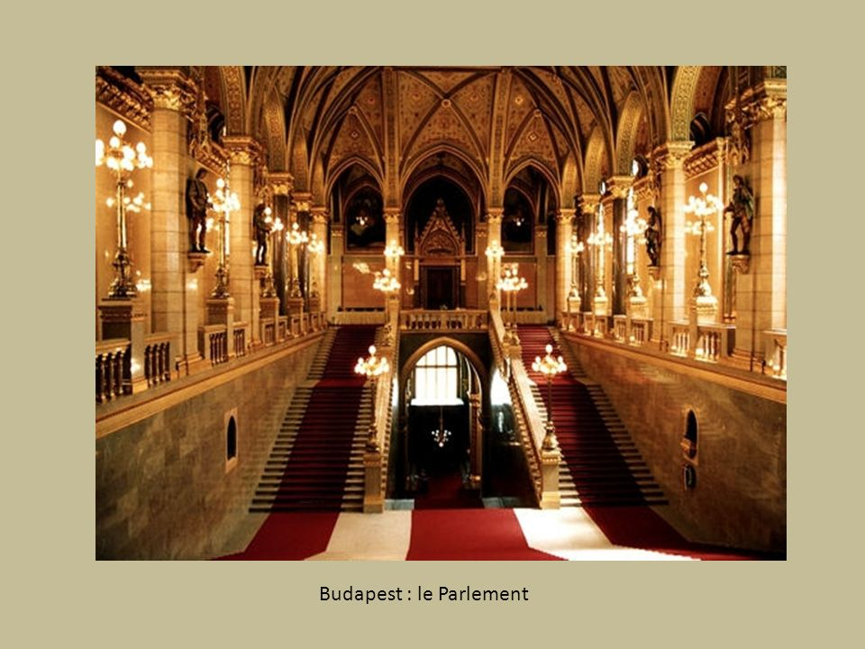 Budapest : le Parlement
