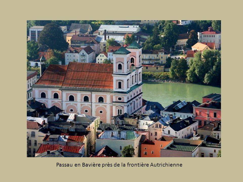 Passau en Bavière près de la frontière Autrichienne