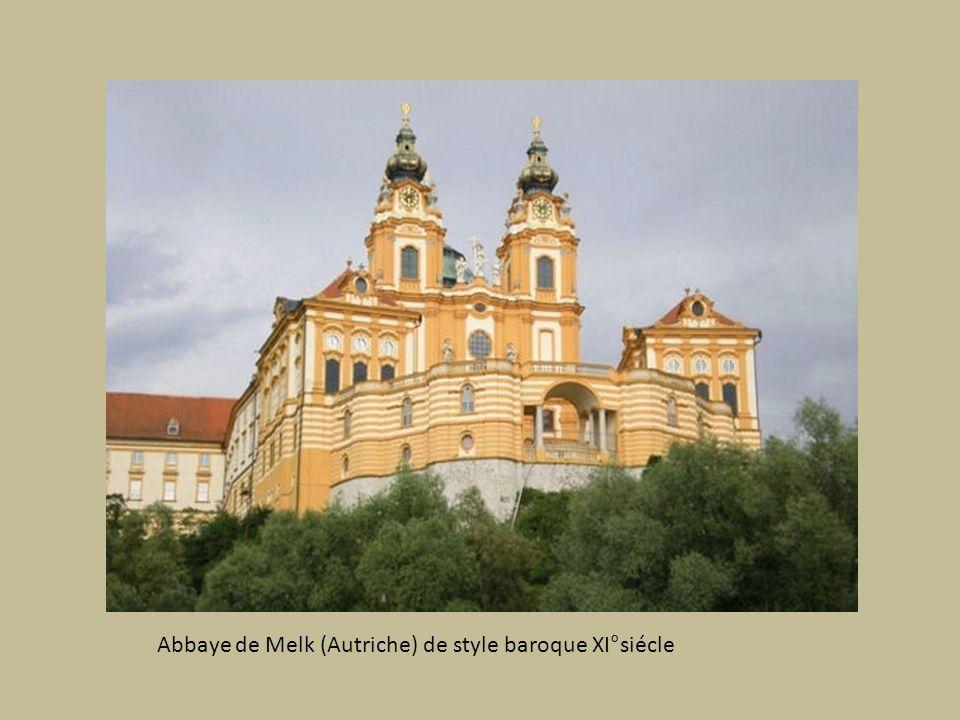 Abbaye de Melk (Autriche) de style baroque XI°siécle
