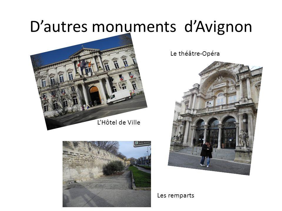 D'autres monuments d'Avignon