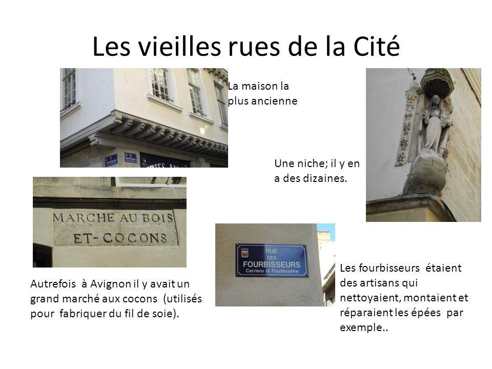 Les vieilles rues de la Cité