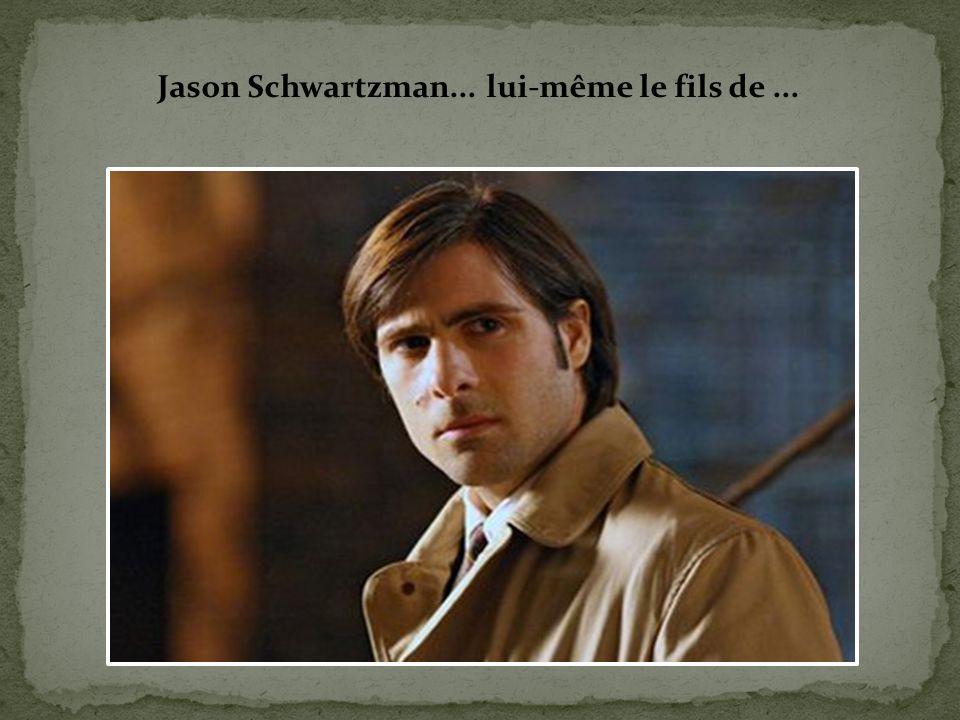 Jason Schwartzman... lui-même le fils de ...
