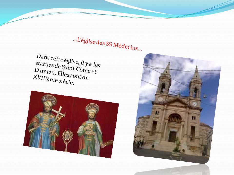 …L'église des SS Médecins…