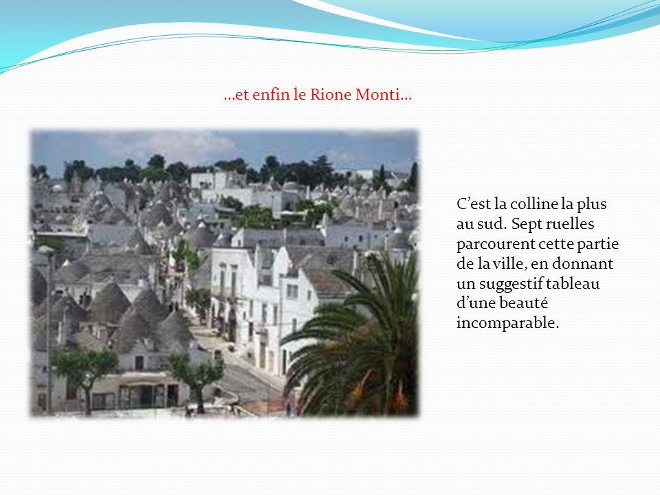 …et enfin le Rione Monti…