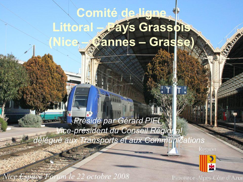 Comité de ligne Littoral – Pays Grassois (Nice – Cannes – Grasse)