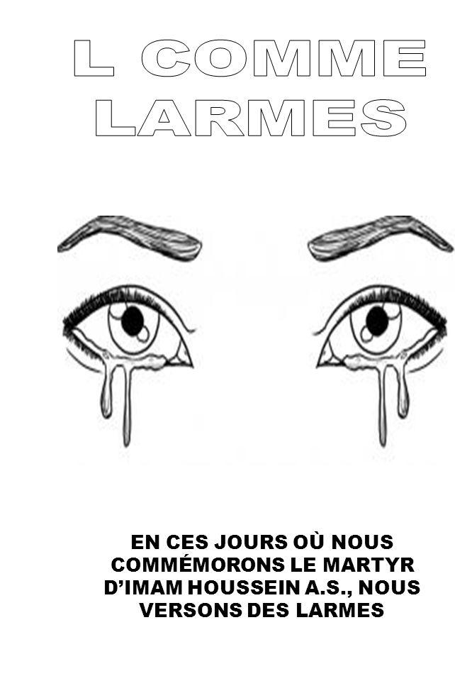 L COMME LARMES.