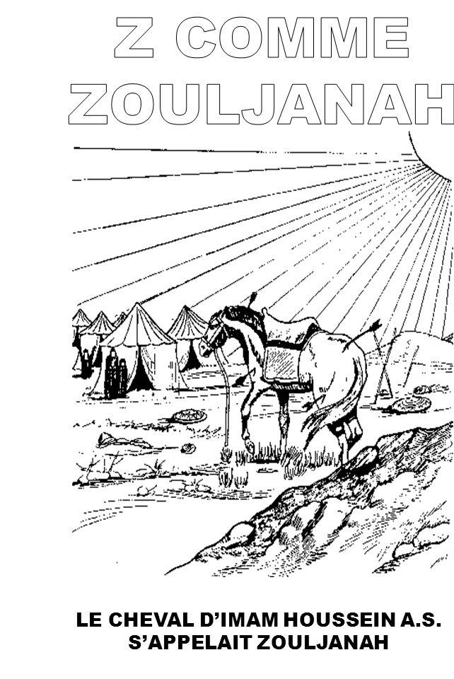 LE CHEVAL D'IMAM HOUSSEIN A.S. S'APPELAIT ZOULJANAH