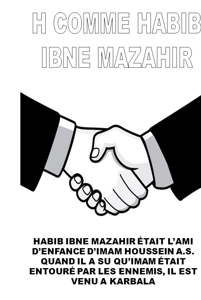H COMME HABIB IBNE MAZAHIR