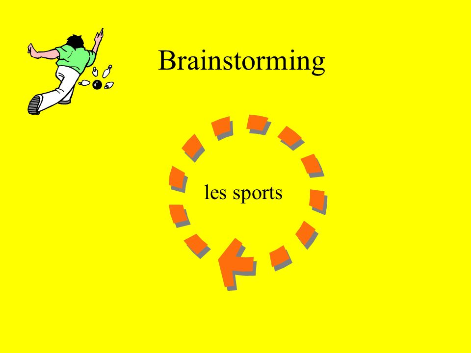Brainstorming les sports