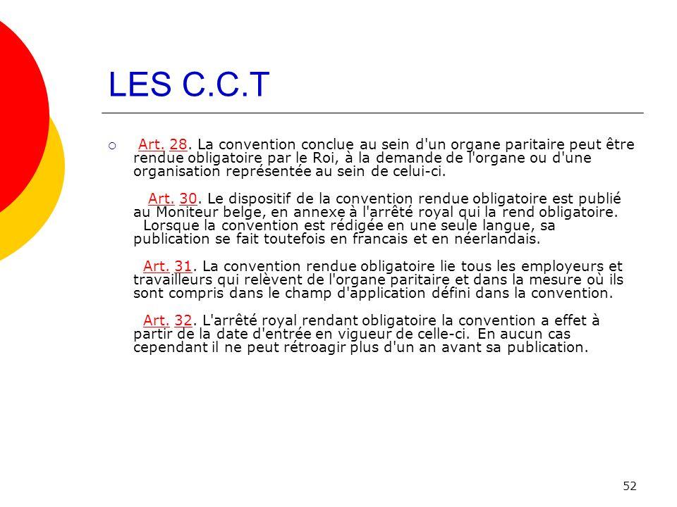 LES C.C.T