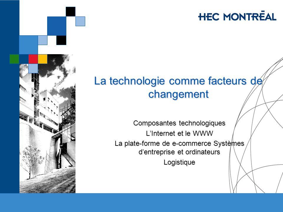 La technologie comme facteurs de changement
