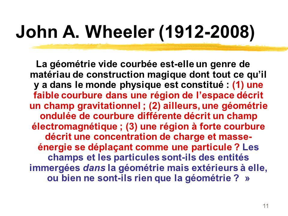 John A. Wheeler (1912-2008)