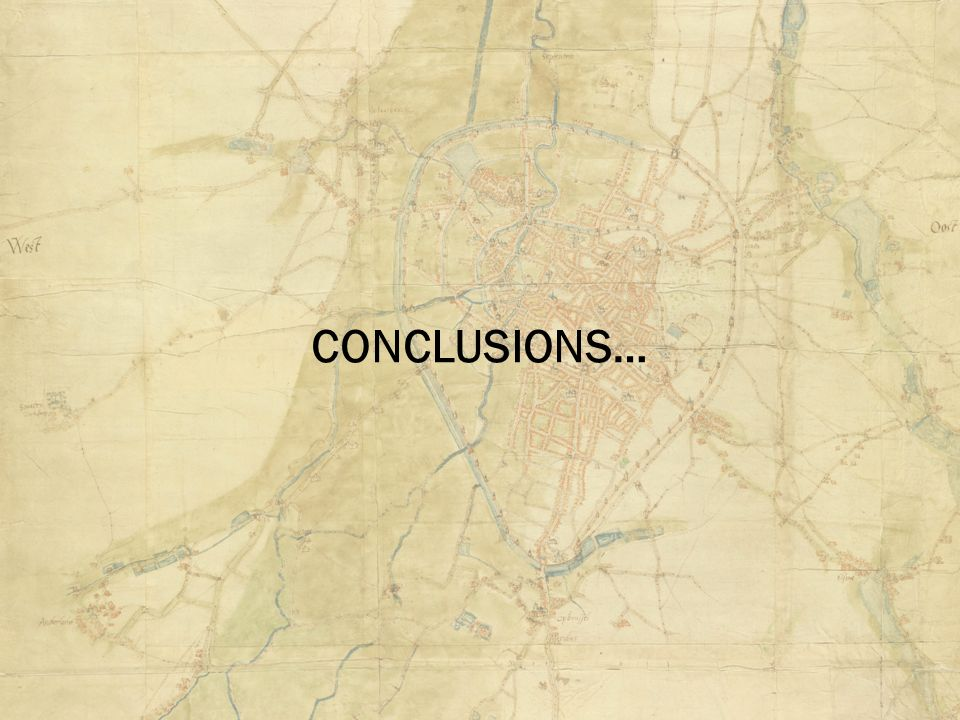 CONCLUSIONS…