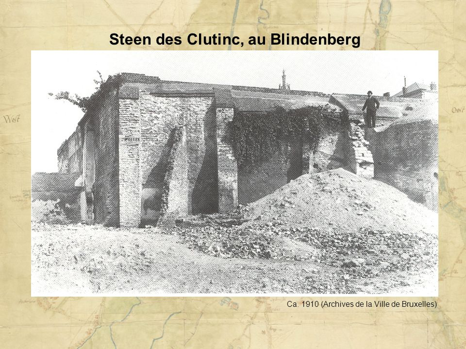 Steen des Clutinc, au Blindenberg