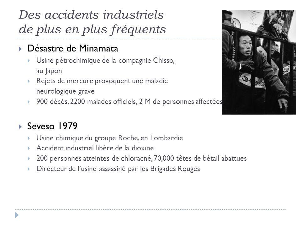 Des accidents industriels de plus en plus fréquents