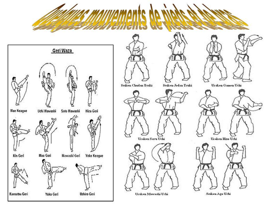 Quelques mouvements de pieds et de bras
