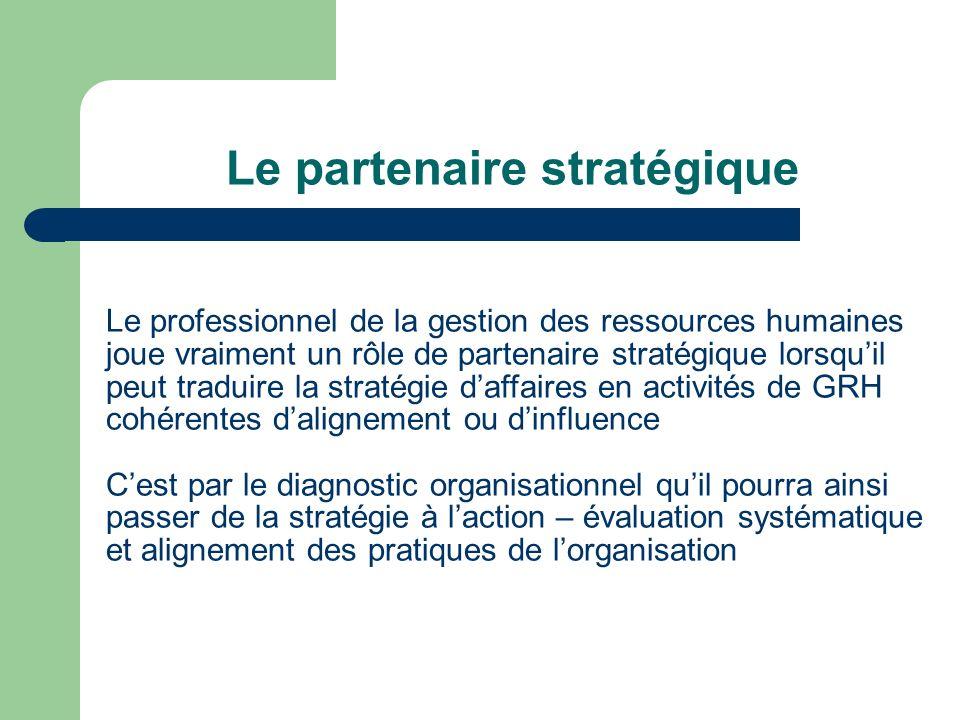 Le partenaire stratégique