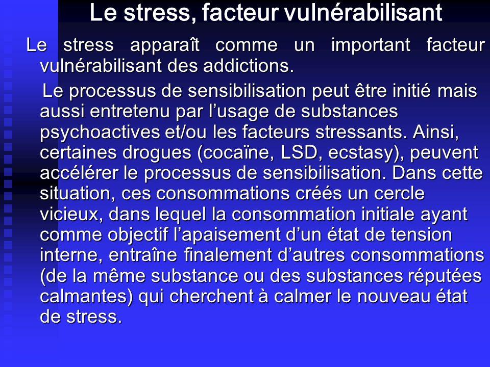 Le stress, facteur vulnérabilisant