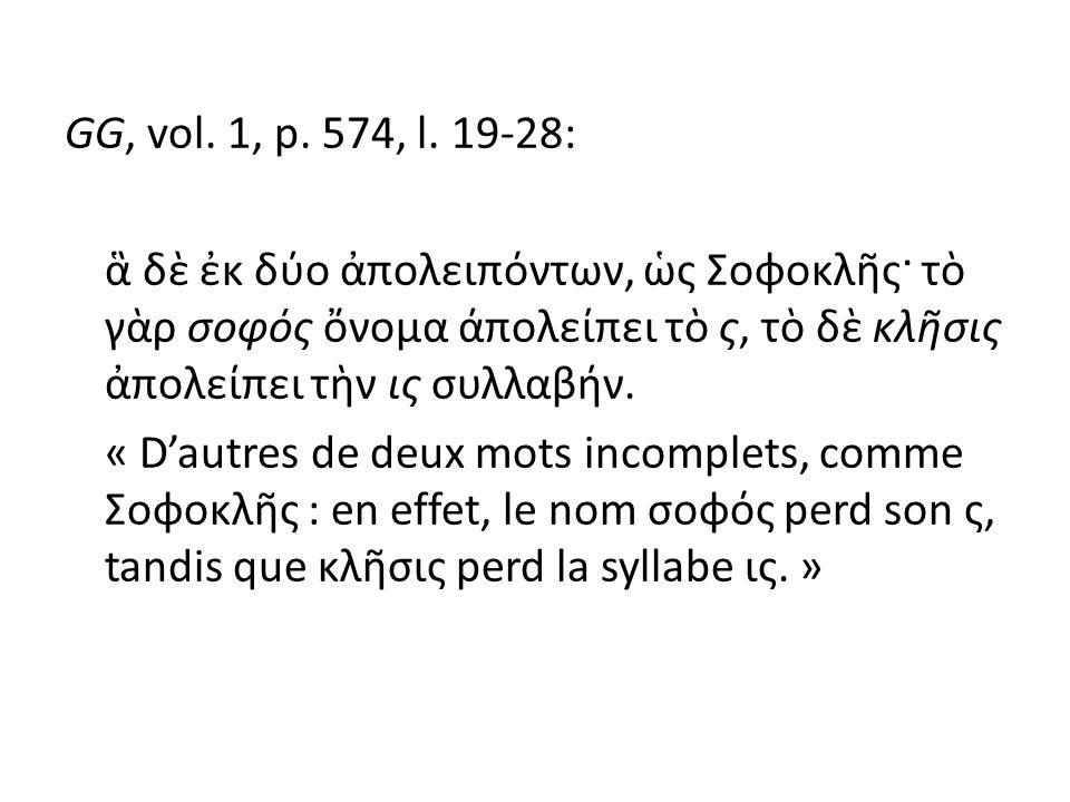 GG, vol. 1, p. 574, l.