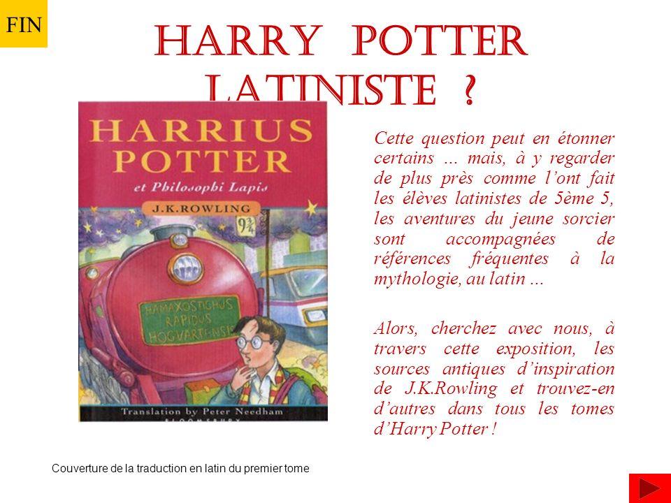 HARRY Potter latiniste