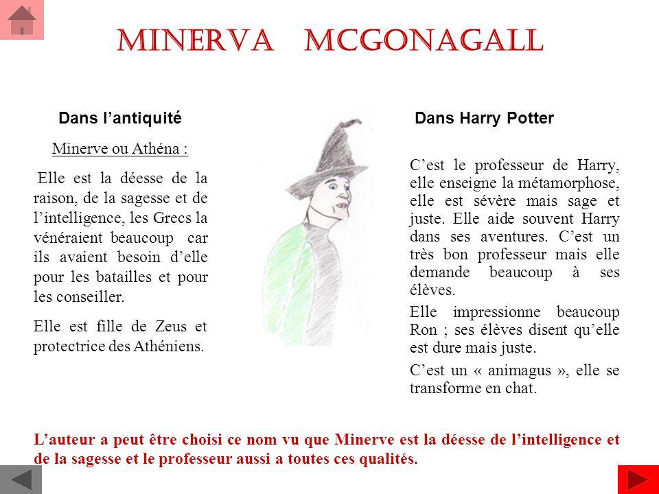 Minerva Mcgonagall Dans Harry Potter Dans l'antiquité