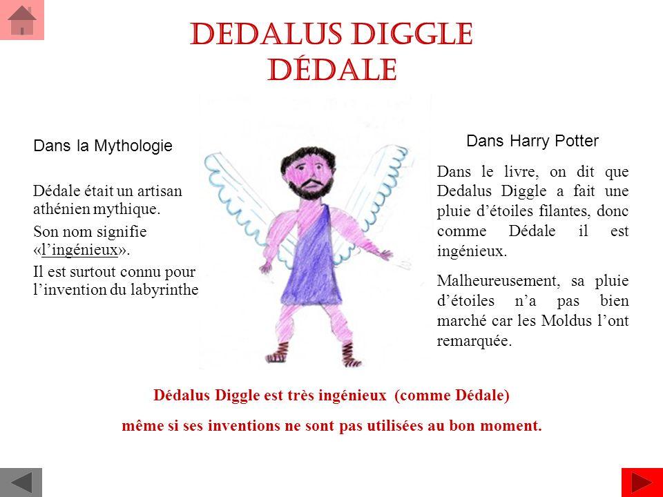 Dedalus Diggle Dédale Dans Harry Potter Dans la Mythologie