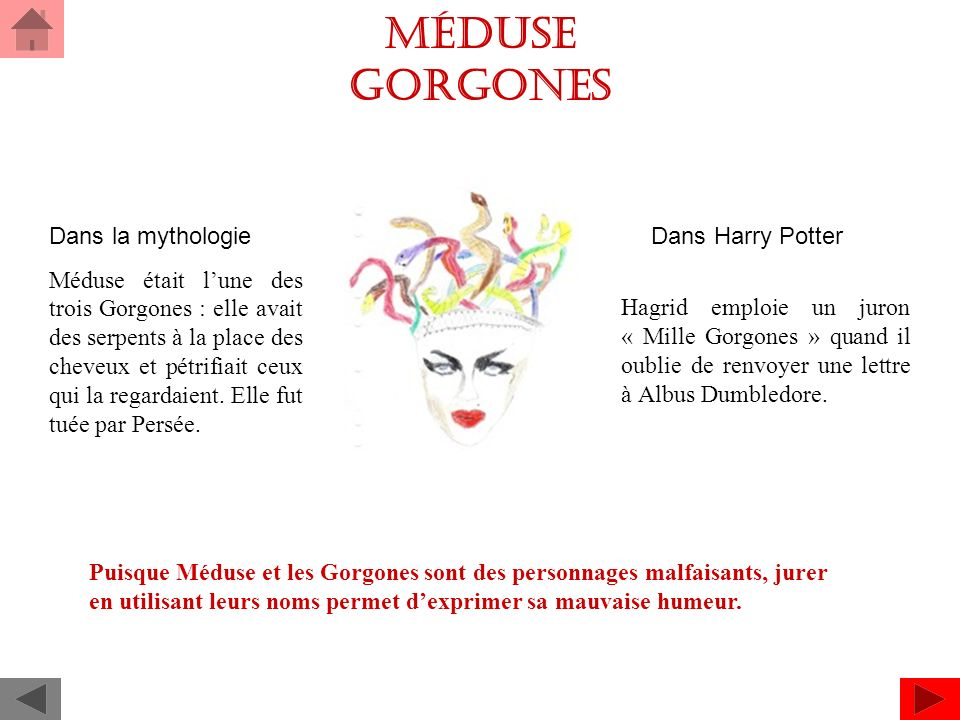 Méduse Gorgones Dans la mythologie