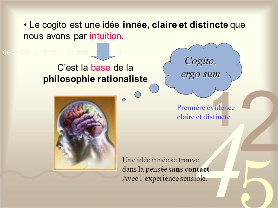 philosophie rationaliste
