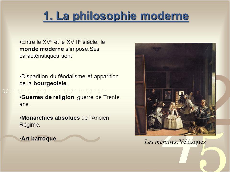 1. La philosophie moderne