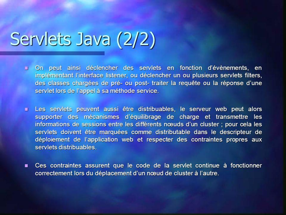 Servlets Java (2/2)