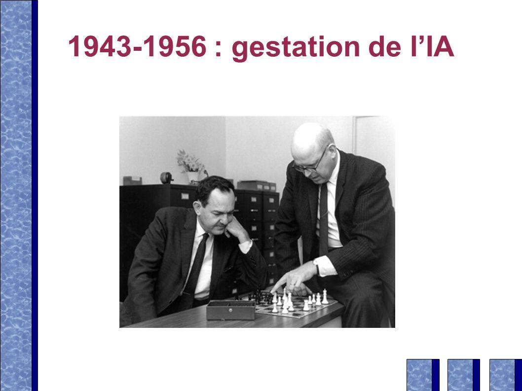 1943-1956 : gestation de l'IA