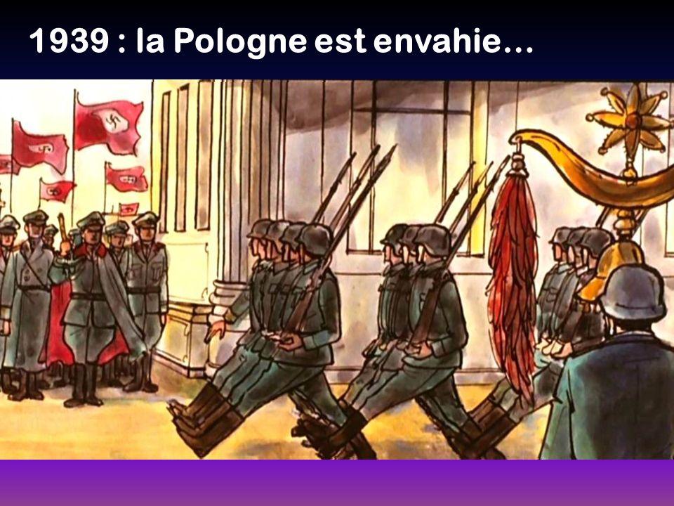 1939 : la Pologne est envahie…