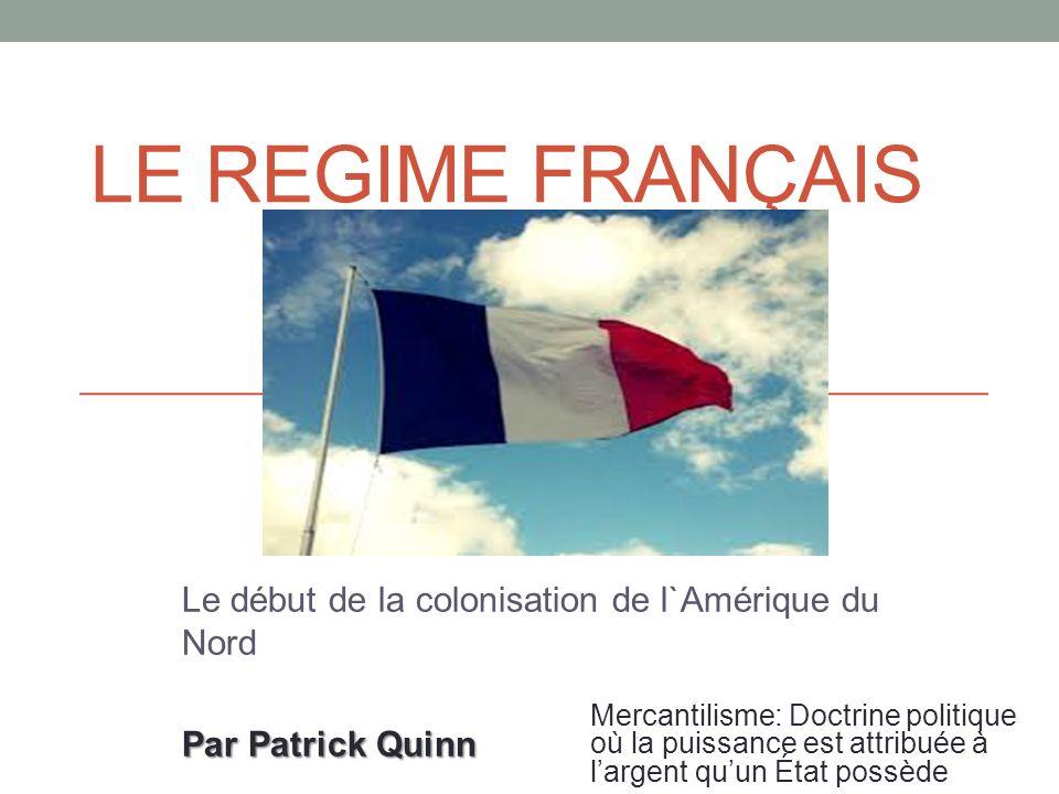 Le début de la colonisation de l`Amérique du Nord Par Patrick Quinn