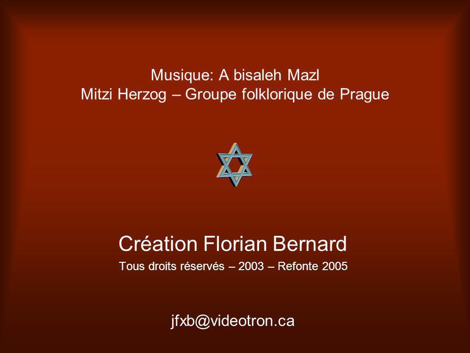 Musique: A bisaleh Mazl Mitzi Herzog – Groupe folklorique de Prague